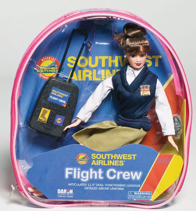 SOUTHWEST FLIGHT ATTENDANT DOLL