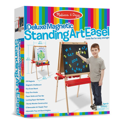 DELUXE EASEL MAGNETIC BOARD