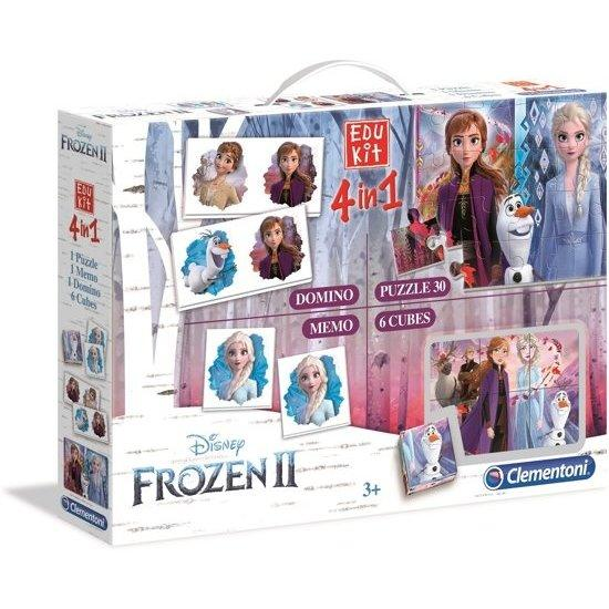 Clementoni Disney Frozen 2 Edu Kit 4 in 1
