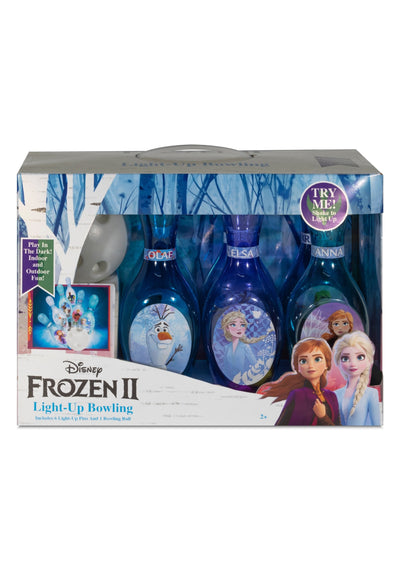 FROZEN 2 LIGHT UP BOWLING SET