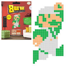 Super Mario Bros. Sticky Note Art Kit 50 x 100 cm