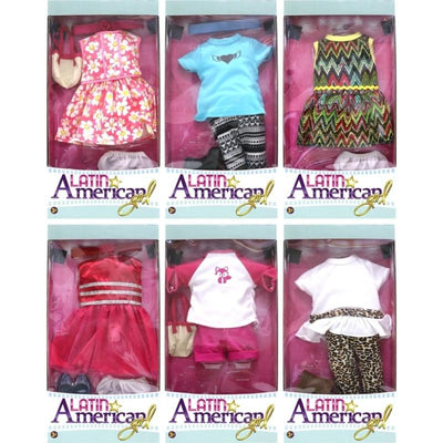 Latin American Girl Doll Clothes Asst