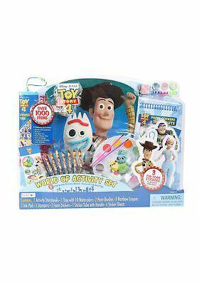 Toy Story 4 Art Set  Activity Tray In Display 1000 PC