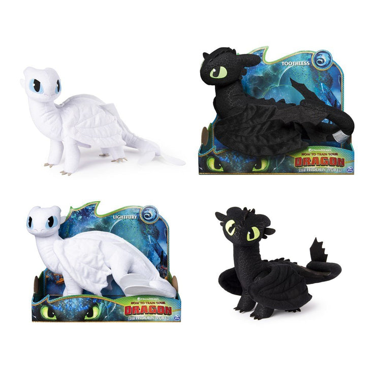How To Train Your Dragon Deluxe Plush Toys Asst