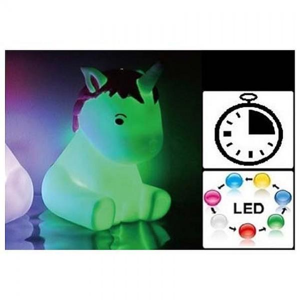 Unicorn Table Led Lamp with Timer