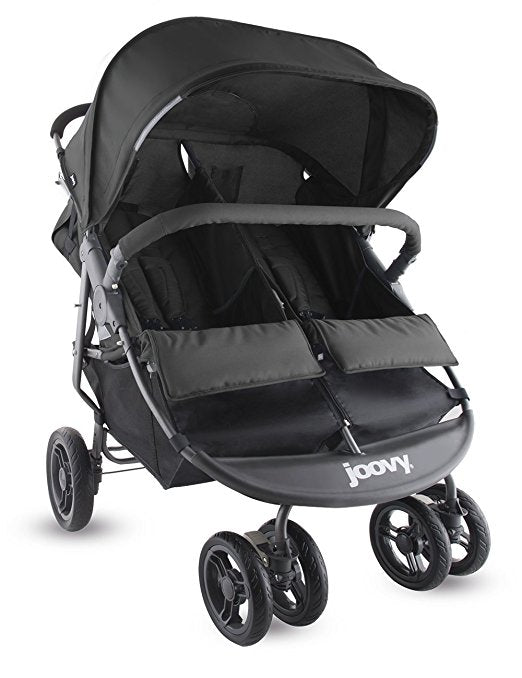 Joovy X2 Double Stroller with 2 Parent Consoles