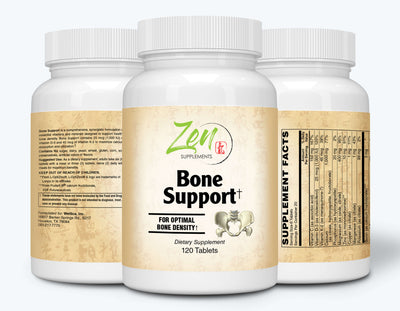 Bone Support - With Vitamin K-2, D-3 and FruiteX-B® (boron) - 120 Tabs