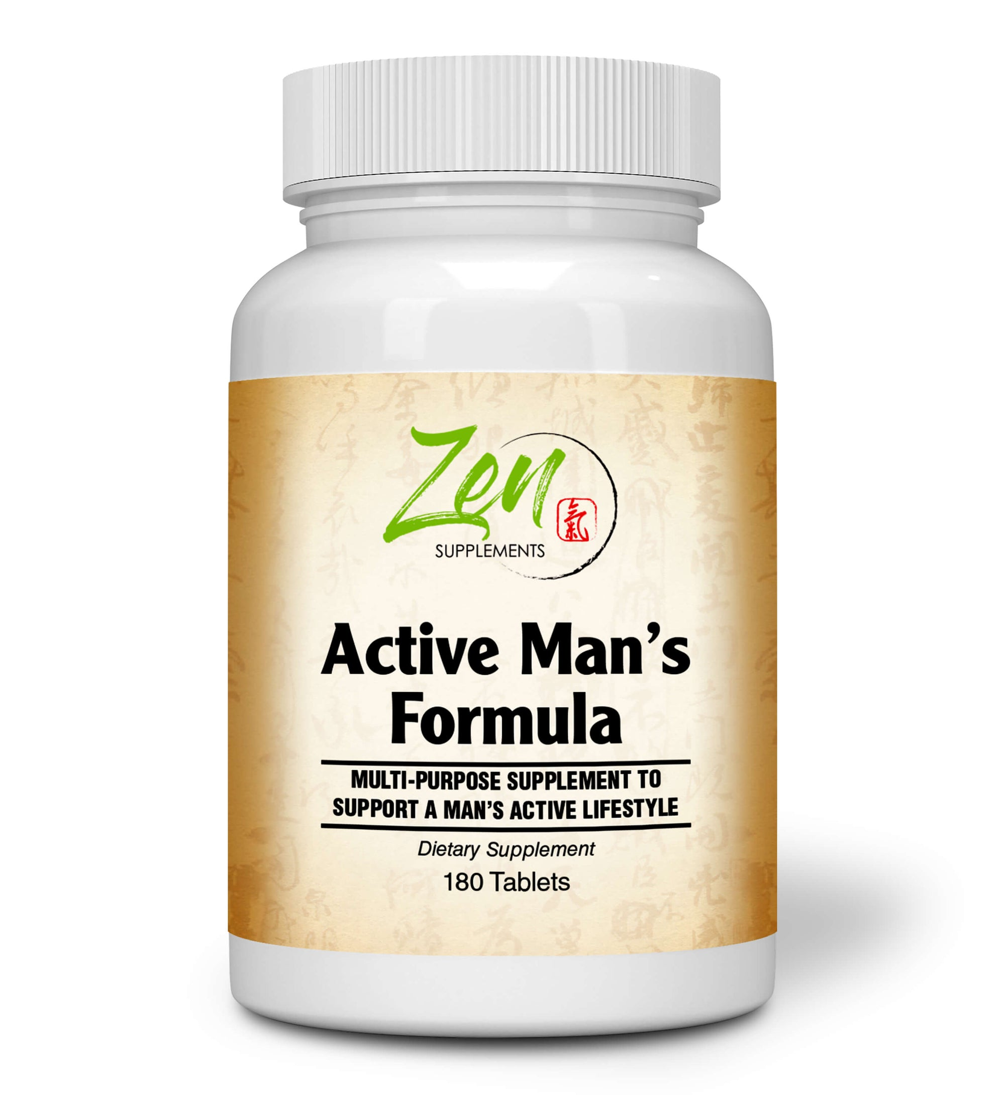 Active Man's Multi-Vitamin - 180 Tabs