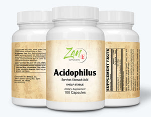 Acidophilus 500 Million CFU and 4 Strains - 100 Caps