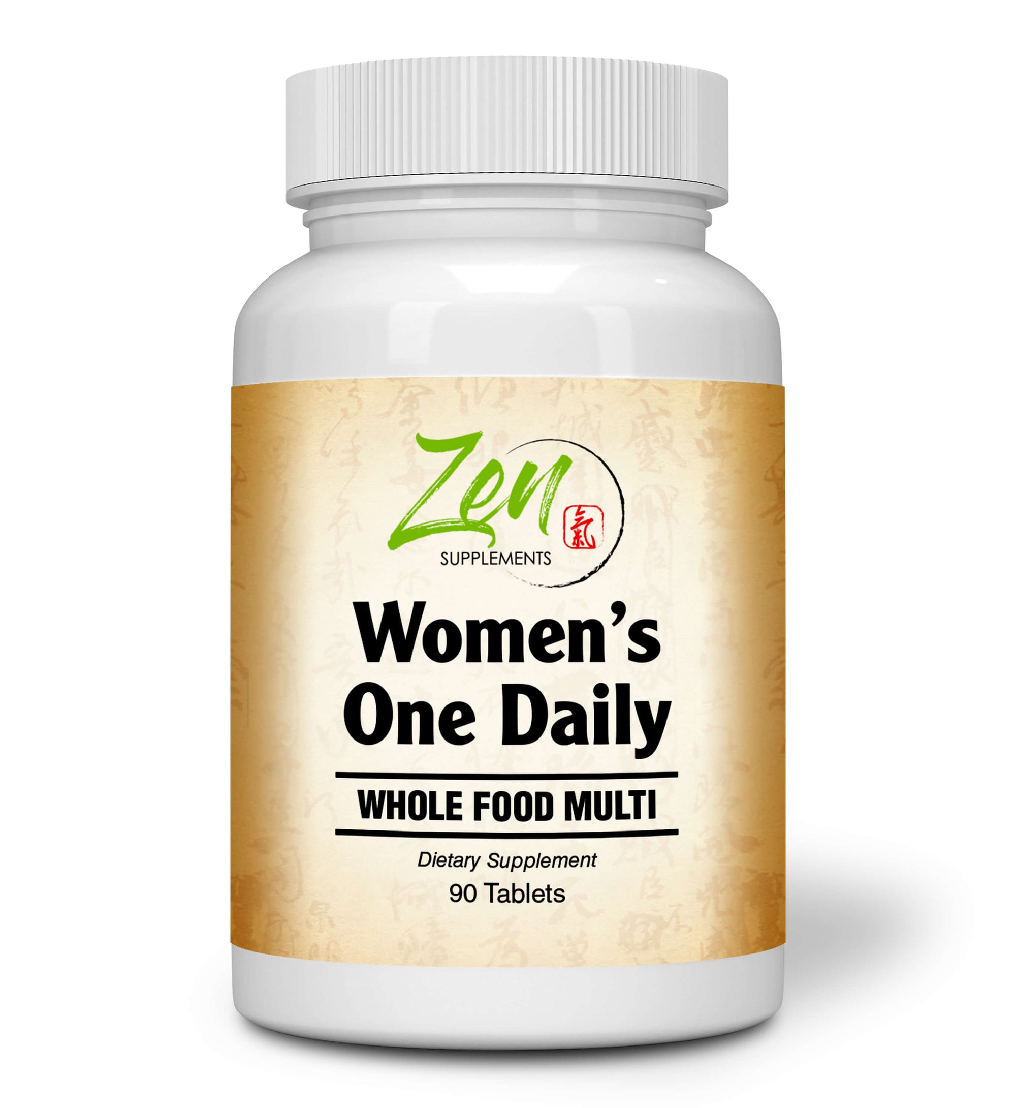 Women's One Daily Organic Whole Food Multi-Vitamin - 90 Tabs