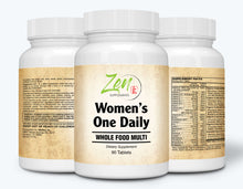 Load image into Gallery viewer, Women's One Daily Organic Whole Food Multi-Vitamin - 90 Tabs