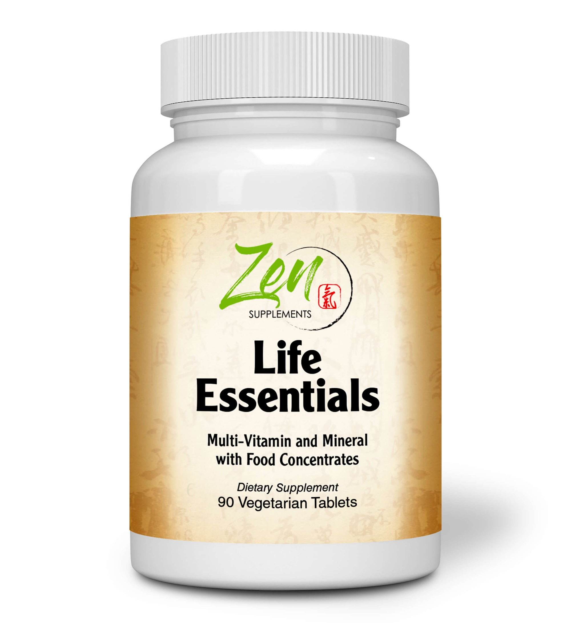 Life Essentials MultiVitamin w/ Probiotics & Digestive Enzymes 90 Tabs