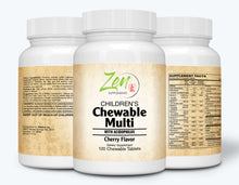 Load image into Gallery viewer, Children's Chewable Multi-Vitamin w/ Acidophilus Cherry Flavor 120 Tab