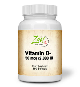 Vitamin D-3 2000IU - 250 Softgel