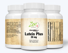 Load image into Gallery viewer, Lutein Plus 20mg - With Bilberry & Zeaxanthin - 60 Caps