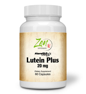 Lutein Plus 20mg - With Bilberry & Zeaxanthin - 60 Caps