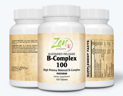B-Complex 100 Sustained Release - 100 Tabs