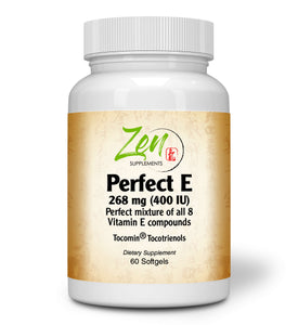 Perfect E - With Tocotrienols - 60 Softgel