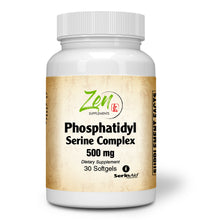 Load image into Gallery viewer, Phosphatidyl Serine Complex - Nootropic Support - 30 Softgel