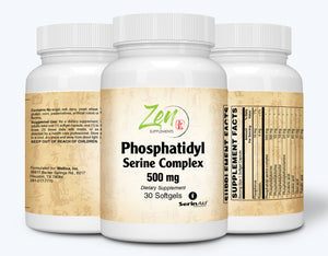Phosphatidyl Serine Complex - Nootropic Support - 30 Softgel