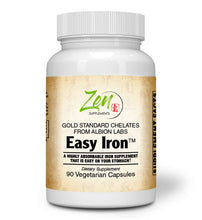 Load image into Gallery viewer, Easy Iron 25mg - Red Blood Cell Supplement - 90 Vegcaps