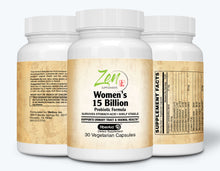 Load image into Gallery viewer, Womens 15 Billion Multi-Probiotic - 30 Vegcaps