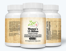 Load image into Gallery viewer, Womens 15 Billion Multi-Probiotic - 60 Vegcaps