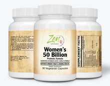 Load image into Gallery viewer, Womens 50 Billion Probiotic Formula - 30 Vegcaps