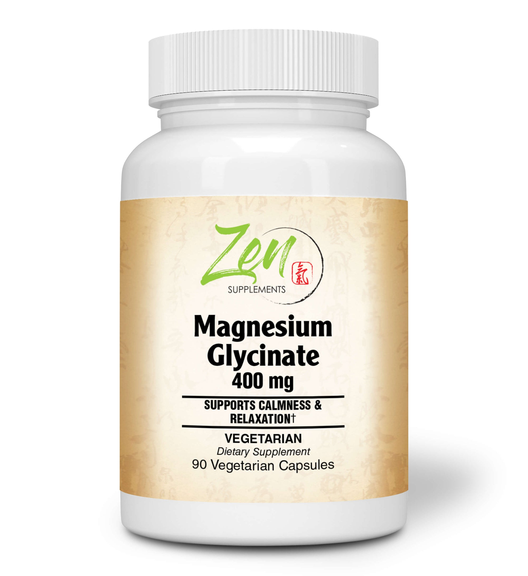 Magnesium Glycinate 400mg - 90 Vegcaps