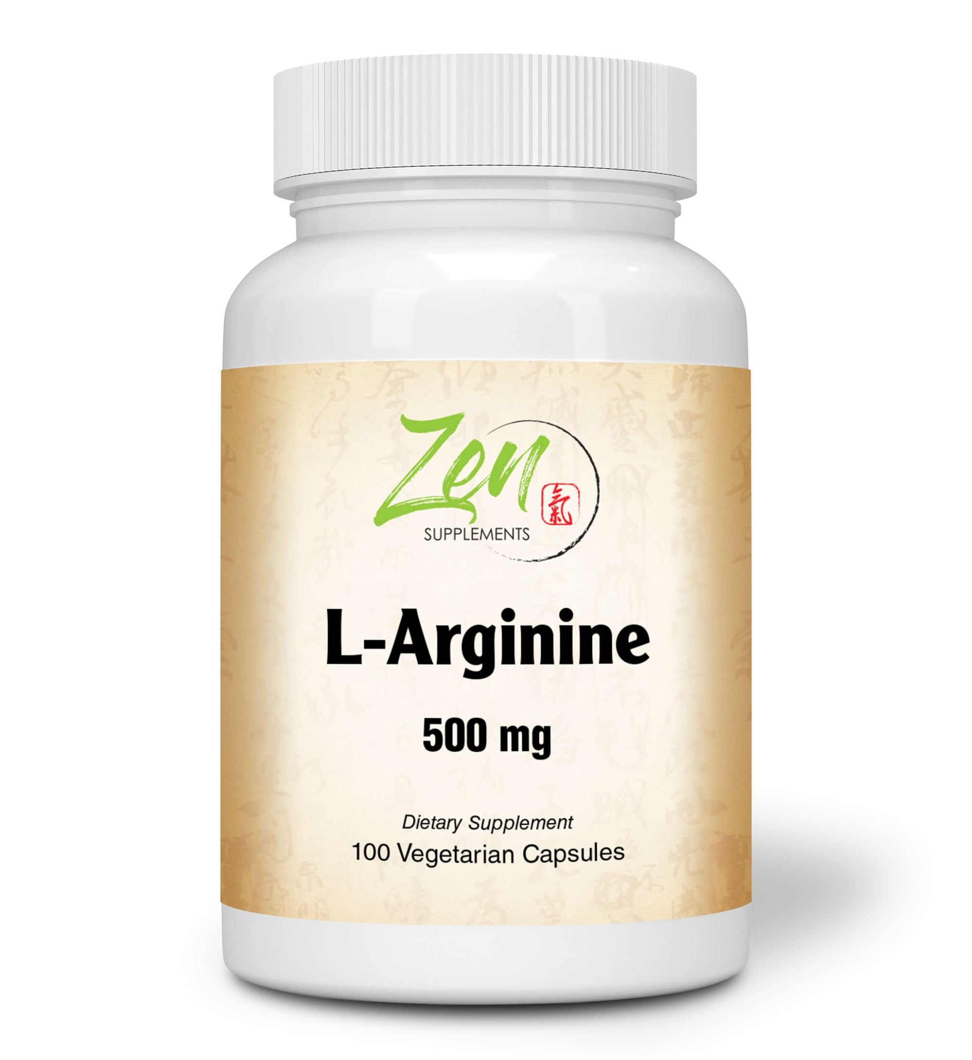 L-Arginine 500mg With Vitamin B-6 supports immune function 100 Vegcaps