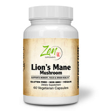 Load image into Gallery viewer, Lion's Mane Nootropic Brain Supplement (Organic) - 60 Caps