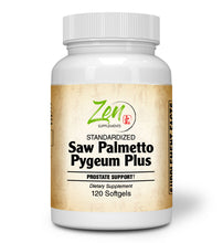 Load image into Gallery viewer, Saw Palmetto & Pygeum Plus - With L-OptiZinc® - 120 Softgel