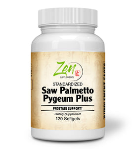 Saw Palmetto & Pygeum Plus - With L-OptiZinc® - 120 Softgel