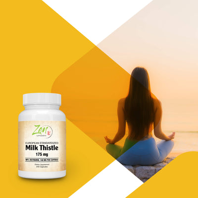 Milk Thistle Extract Plus 175mg - 240 Caps