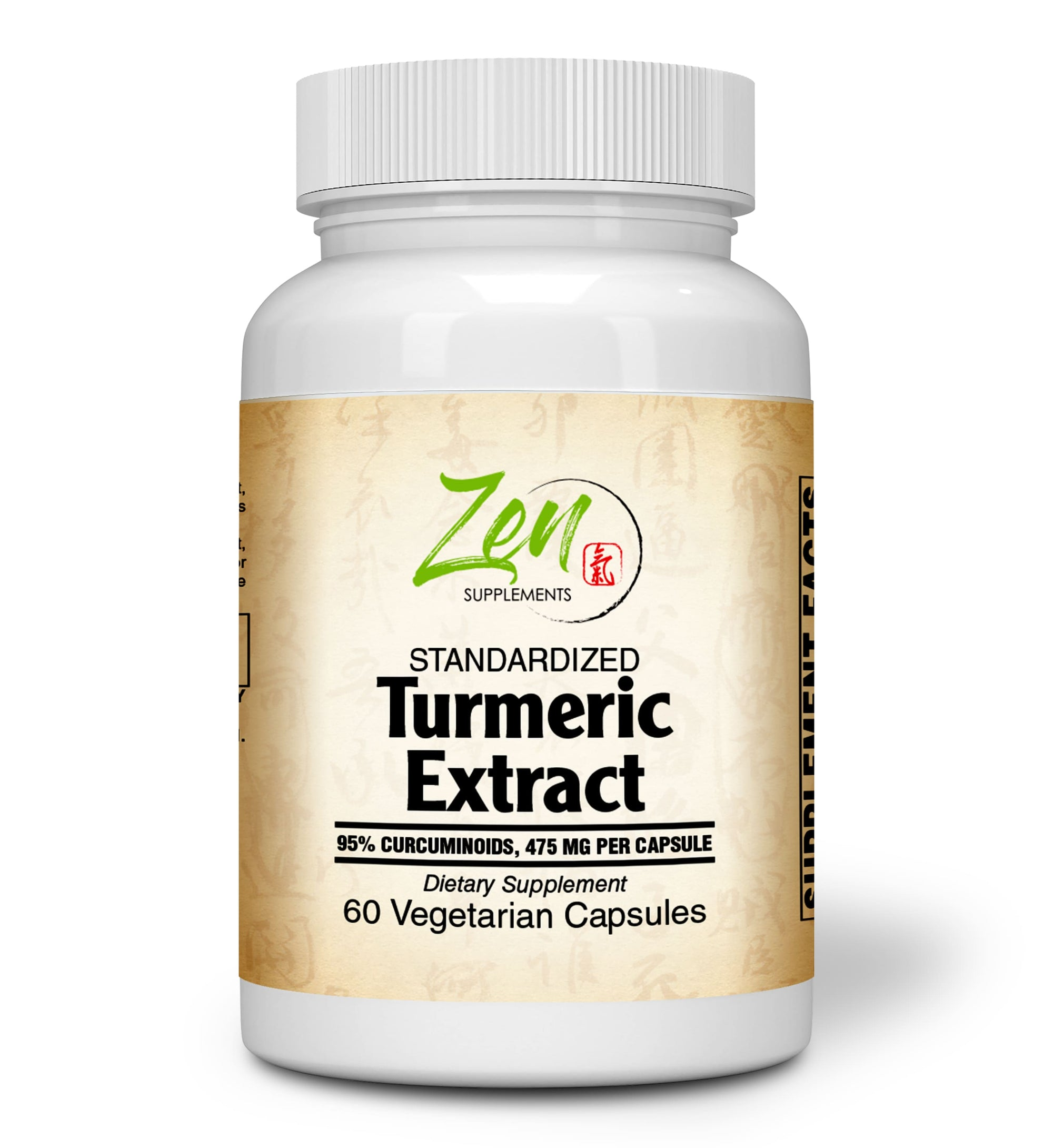 Turmeric Extract 500mg - With Curcumin C3 Complex® - 60 Vegcaps