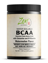 Load image into Gallery viewer, BCAA - Branch Chain Amino Acids - 330g Powder Watermelon-Flavor