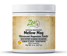 Load image into Gallery viewer, Mellow Mag-Lemon Flavor Magnesium Carbonate - 8oz
