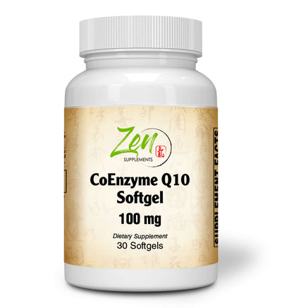 CoQ10 Ubiquinone 100mg - 30 Softgel