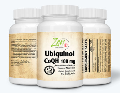 Ubiquinol CoQH 100mg - 60 Softgel