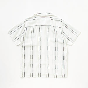 WHITE STRIPE S/S SHIRT