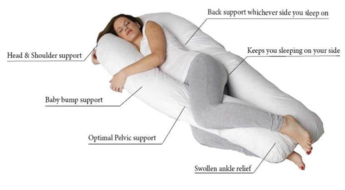 Pregnancy Pillows for a Better Night's Sleep