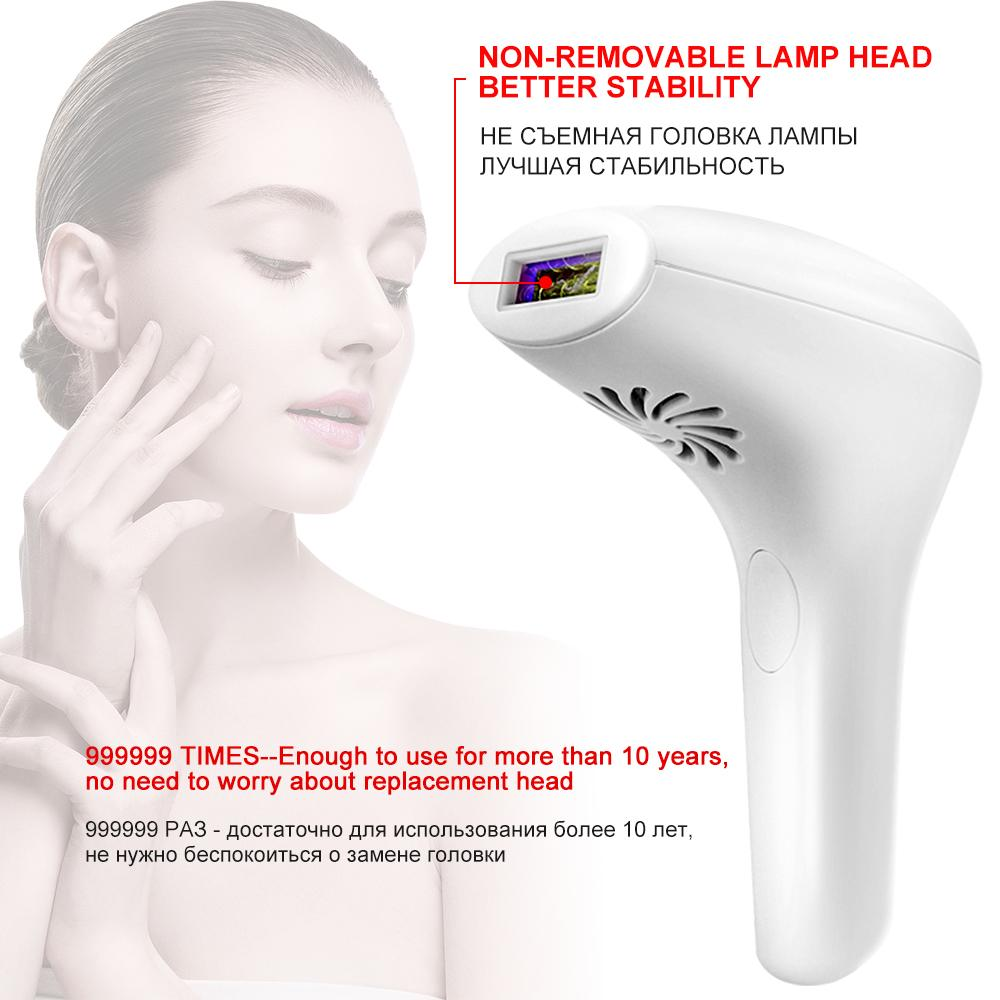 Qualybuy 2020 New Laser Permanent Electric Painless Hair Removal