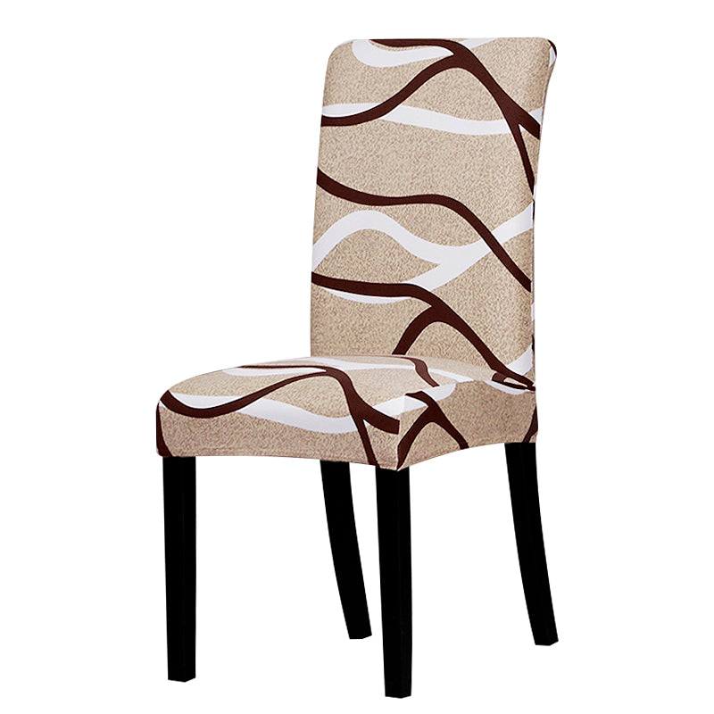 Printed Stretch Chair Cover