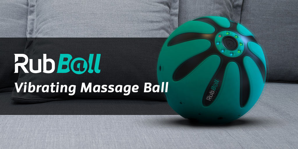 Rubball viabrating massage ball