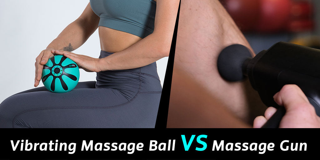 Vibrating Massage Ball VS Massage Ball