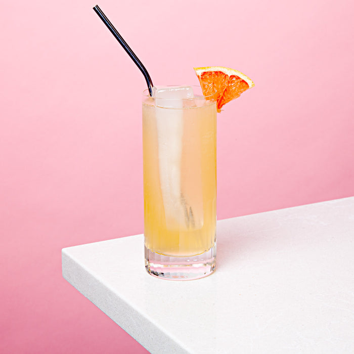 Days of Heaven Tea Paloma (bonus mocktail version)