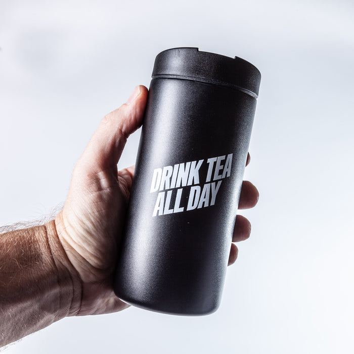 Drink Tea All Day - 12oz Miir travel tumbler