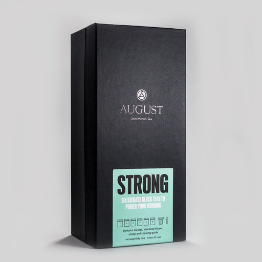 Strong: Six Kickass Teas to Power Your Morning