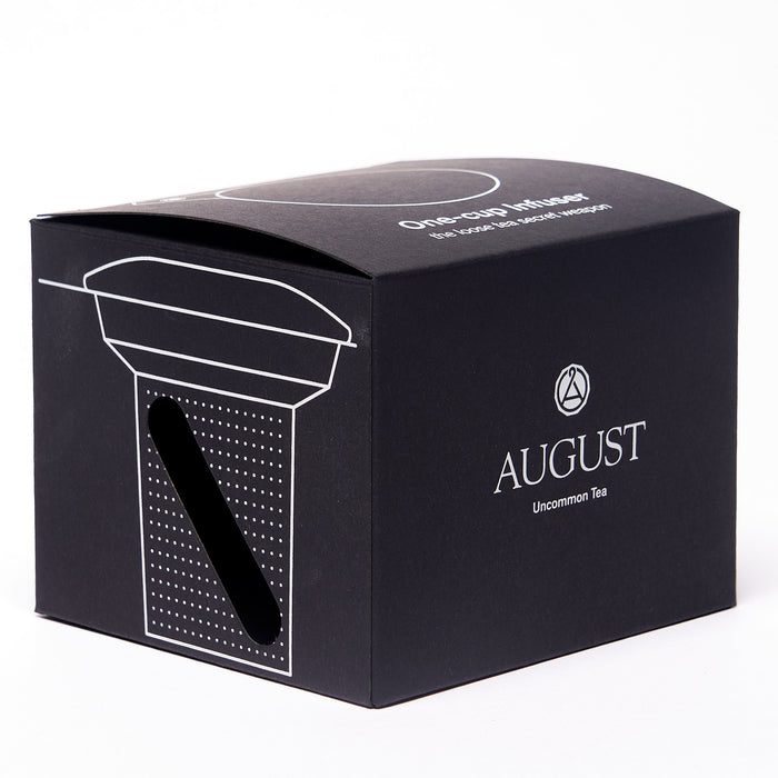 One Cup Infuser by August Uncommon Tea