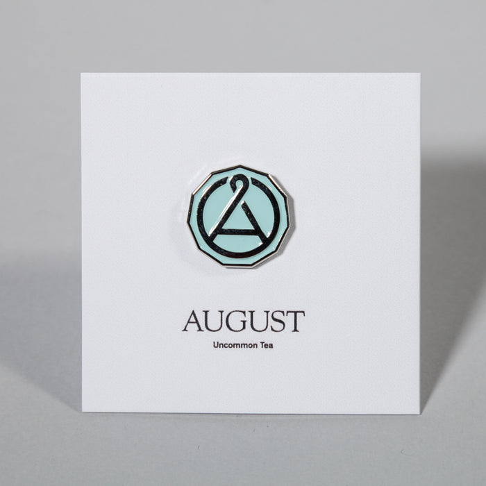 August Seal Enamel Pin